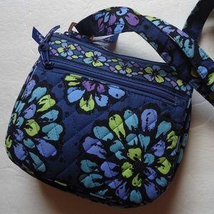 Vera Bradley  Indigo Crossbody bag .